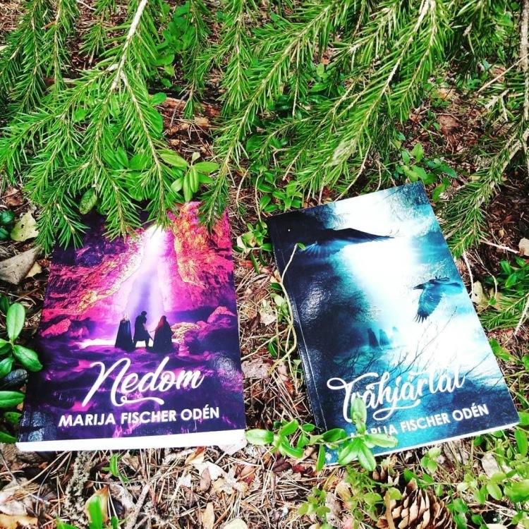 Böckerna Tvåhjärtat och Nedom